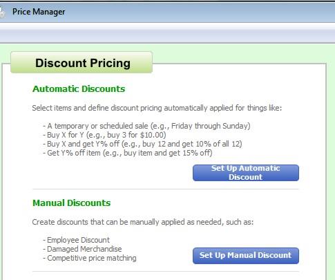Adding Discount Types in QuickBooks Point of Sale - QBPOS